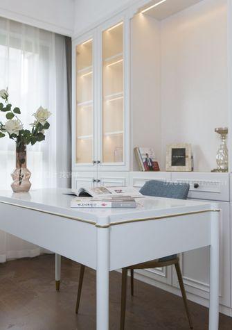 120平米四室两厅美式风格书房装修效果图