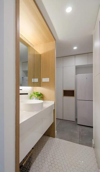 3-5万60平米公寓现代简约风格卫生间图