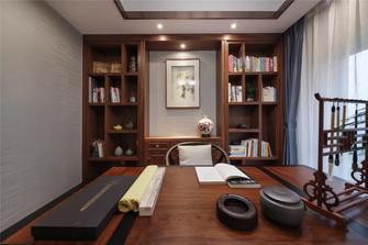 富裕型130平米新古典风格书房设计图
