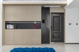 5-10万90平米三室两厅现代简约风格玄关装修案例