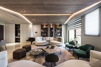 豪华型140平米三室两厅轻奢风格客厅设计图