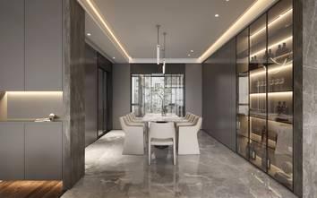 20万以上140平米复式现代简约风格餐厅欣赏图