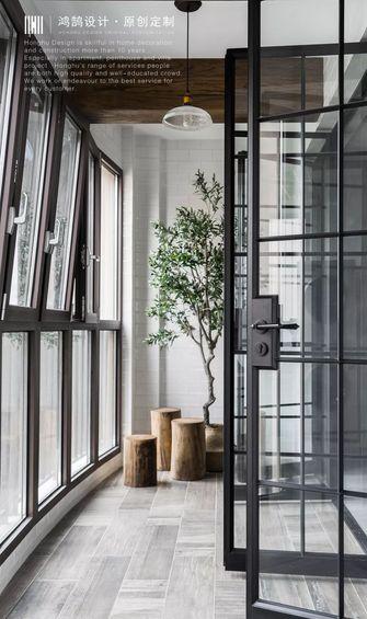 豪华型140平米三室两厅工业风风格阳台图片大全