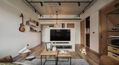 5-10万30平米小户型工业风风格客厅装修图片大全