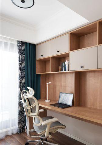 110平米三室两厅美式风格书房效果图