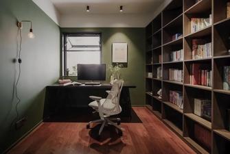 经济型110平米三室两厅新古典风格书房装修图片大全