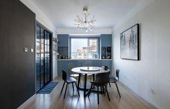 富裕型130平米四室两厅北欧风格餐厅装修图片大全