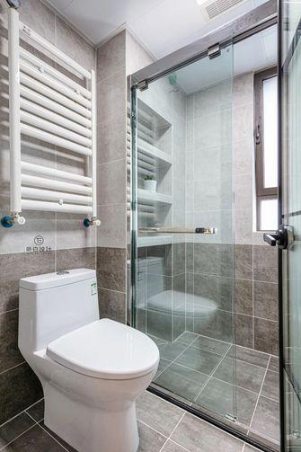 经济型140平米三室一厅中式风格卫生间图