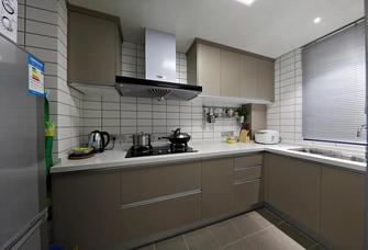 富裕型90平米三混搭风格厨房设计图