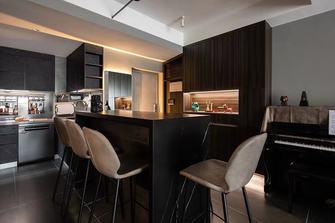 110平米三室两厅轻奢风格餐厅欣赏图
