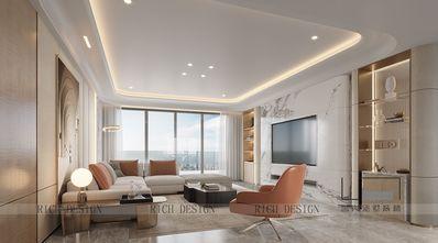 豪华型140平米四室两厅现代简约风格客厅图