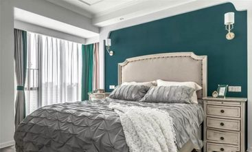 富裕型100平米三美式风格卧室图片