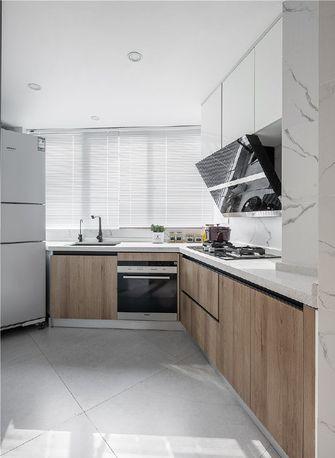 120平米三室两厅日式风格厨房图