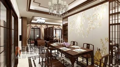 5-10万120平米三室两厅中式风格餐厅装修效果图