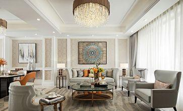 20万以上140平米复式美式风格客厅装修图片大全