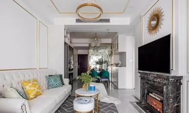 5-10万50平米美式风格客厅图片大全