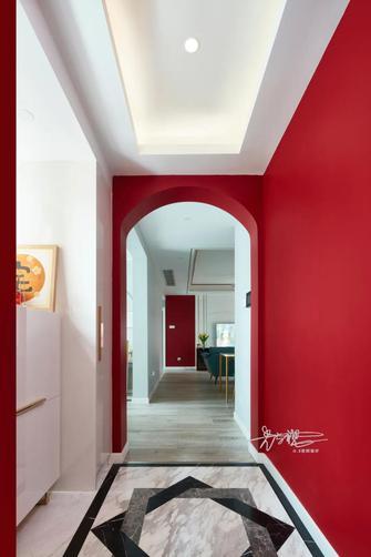 90平米三室一厅美式风格玄关图片