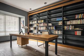 富裕型110平米北欧风格书房图片
