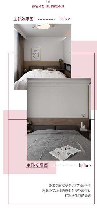 10-15万100平米混搭风格卧室图片