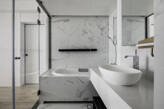 5-10万80平米一室两厅现代简约风格卫生间欣赏图