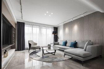 20万以上140平米复式现代简约风格客厅设计图