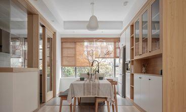 富裕型100平米三室一厅日式风格餐厅图片