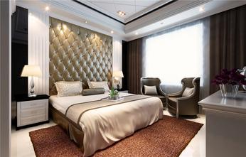 5-10万100平米三室一厅法式风格卧室装修图片大全