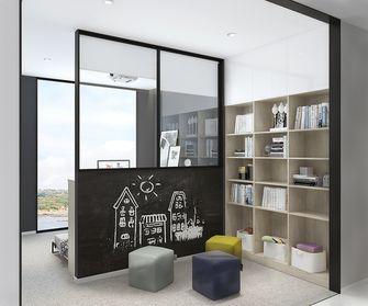 80平米现代简约风格书房装修效果图