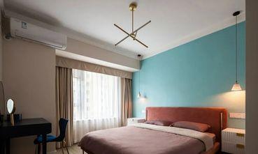 富裕型三室两厅混搭风格卧室装修图片大全