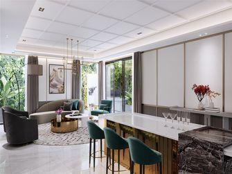 20万以上140平米四室两厅轻奢风格客厅图片大全