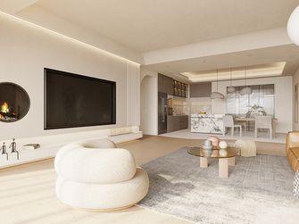 60平米英伦风格客厅图片
