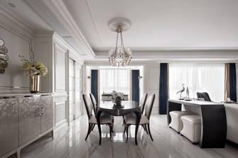豪华型140平米三室三厅美式风格餐厅装修效果图