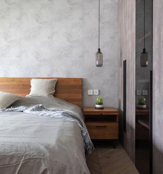 经济型50平米一室两厅现代简约风格卧室效果图