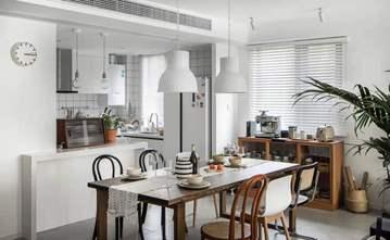 60平米一居室欧式风格餐厅图片大全