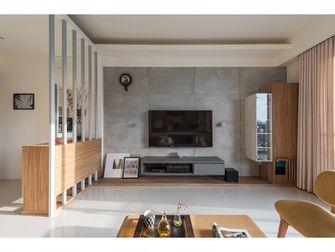 100平米三日式风格客厅装修案例