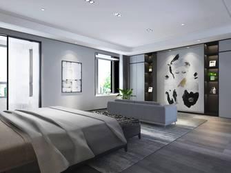 20万以上140平米轻奢风格卧室装修图片大全