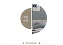 3-5万北欧风格卧室效果图