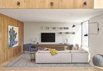 140平米田园风格客厅装修案例