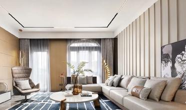 豪华型120平米别墅轻奢风格客厅效果图