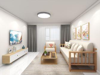 富裕型60平米日式风格客厅图