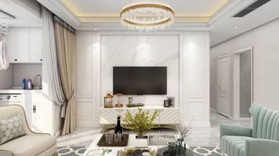 10-15万120平米三室两厅美式风格客厅图片