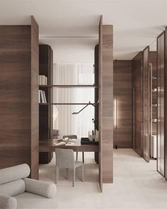 20万以上140平米别墅英伦风格书房装修效果图