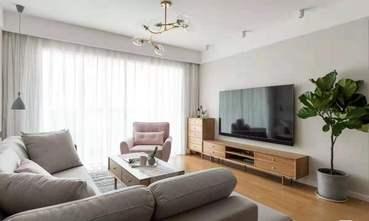 富裕型公寓现代简约风格客厅图片大全