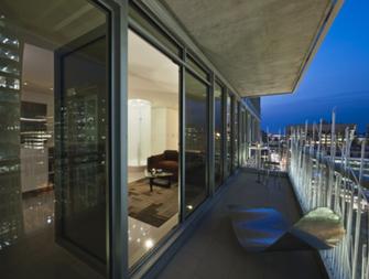 富裕型90平米现代简约风格阳台欣赏图