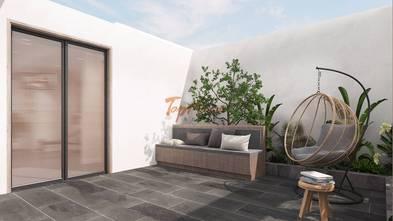 140平米别墅混搭风格阳光房设计图