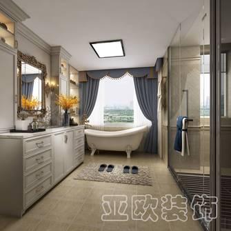 120平米四室两厅欧式风格卫生间图片