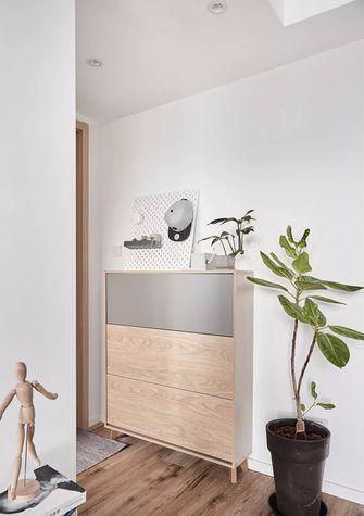 90平米三室一厅北欧风格玄关设计图
