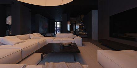 豪华型140平米别墅工业风风格客厅图