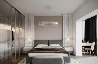 豪华型130平米三室两厅混搭风格卧室图