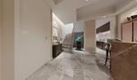 豪华型140平米四室三厅美式风格楼梯间图